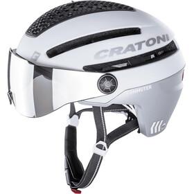 Cratoni Commuter Pedelec Helm, white matte